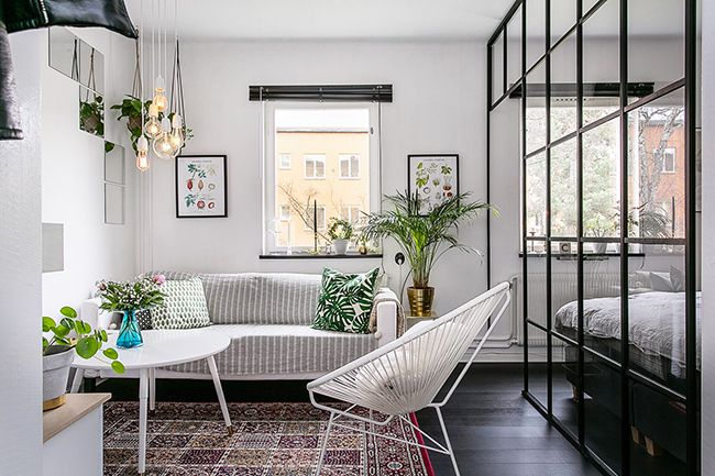 Lovely Market - News - Petit appartement scandinave de 35 m2
