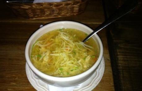 Chicken Soup from Folk Gospoda   http://www.chowzter.com/fast-feasts/europe/Warsaw/review/Folk-Gospoda/Chicken-Soup/4442_4449