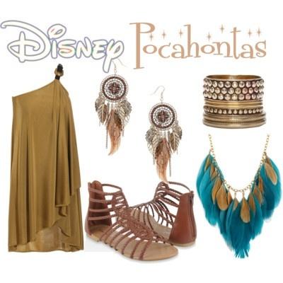 Pocahontas halloween costume... Girls call me and daddy Pocahontas and John smith already! Gonna be fun!