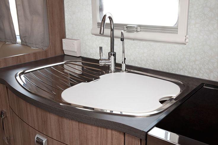 Silverline Caravan Sink