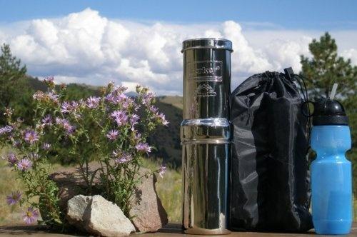 Go Berkey Kit 1 Qt. Water Purifier with 1- Black Berkey Element and 1-generic Sport Bottle WITHOUT Nylon Case: http://www.amazon.com/Berkey-Purifier-Element-1-generic-WITHOUT/dp/B00797R20S/?tag=greavidesto05-20