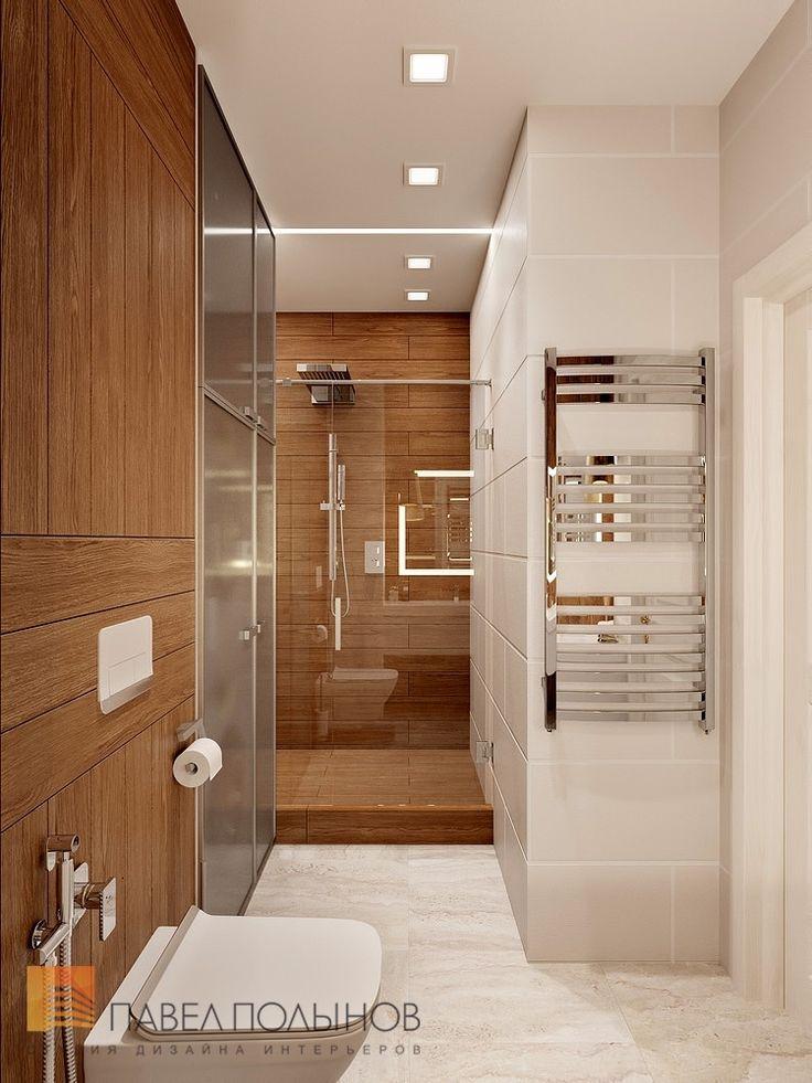 Фото интерьер ванной комнаты из проекта «Дизайн квартиры 70 кв.м. в современном стиле, ЖК «Новомосковский»»