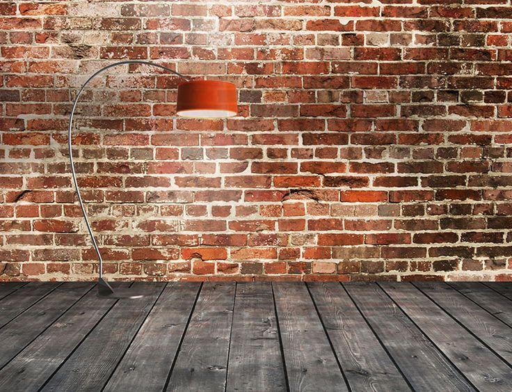 Deze prachtige bakstenen muur is gefotografeerd in een 18e eeuws fort. Fantastisch om met dit zelfklevend behang een robuuste muur in je kamer te maken. Warme kleuren, maar een stoere uitstraling!