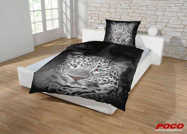 """""""Hochwertige Baumwollbettwäsche mit angesagten Tiermotiven. Diese Bettwäsche ist ein garantierter Blickfang in jedem Schlafzimmer. """""""