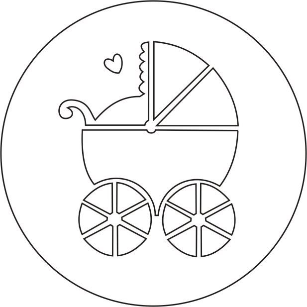 Carreola de baby shower animado - Imagui | Baby shower | Pinterest