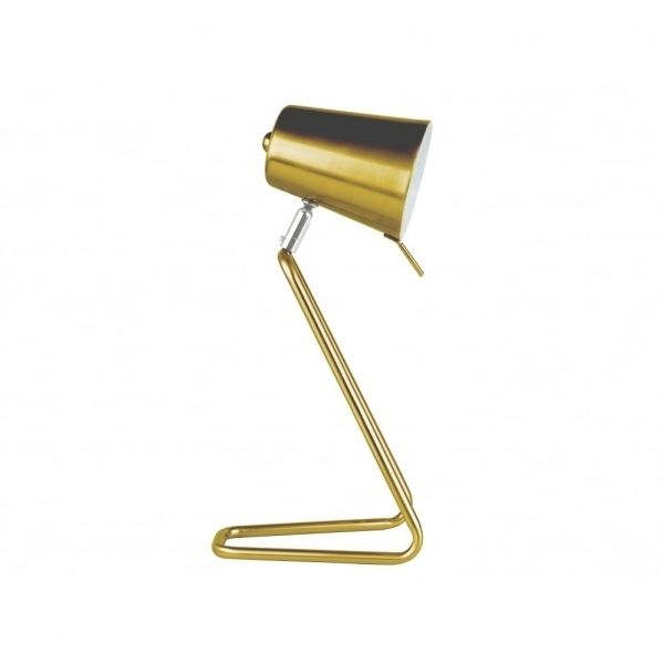 Z Table Lamp, Brass - Table Lamps - Lighting  | Ross & Brown £36