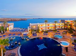 The Iberostar Papagayo is in Playa Blanca, Lanzarote Perfectly situated on the seafront in the cove of Playa de las Coloradas providing a picturesque setting for an unforgettable break.