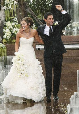 Melissa Rycroft See More Molly Malaney And Jason Mesnick At Their Wedding Rancho Palos Verdes Ca February 27