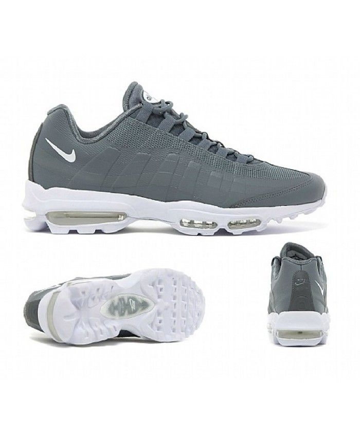 Nike Air Max 95 Ultra Essential Cool Grey White Trainers