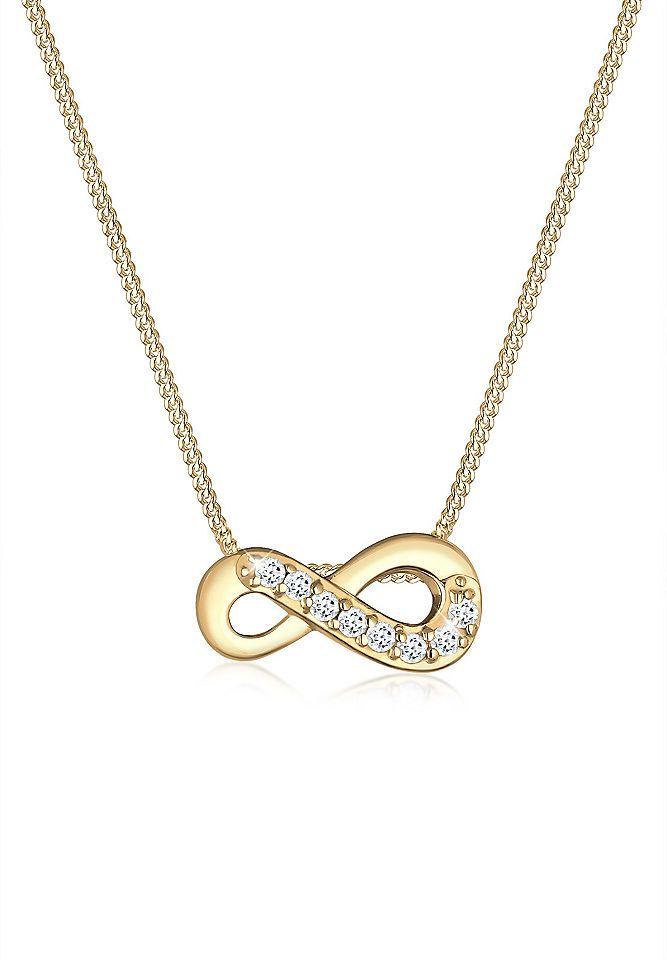 Elli Halskette »Infinity Unendlich Liebe Topas 585 Gelbgold« Jetzt bestellen unter: https://mode.ladendirekt.de/damen/schmuck/halsketten/goldketten/?uid=4223919d-7855-59a7-9781-490f3c629042&utm_source=pinterest&utm_medium=pin&utm_campaign=boards #goldketten #schmuck #halsschmuck #halsketten