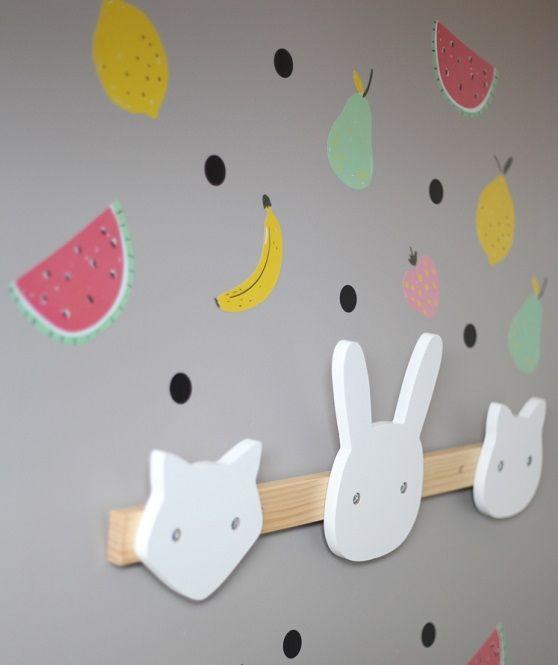 Ideas para decorar la pared de la habitaci n infantil http - Quitar gotele de la pared ...