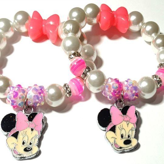 $6.00 #EleventhAvenue #Groopdealz #Sale Pink Minnie Mouse Girl Bracelets - 2 Sizes!