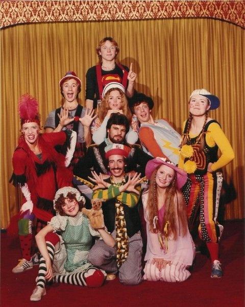 """Godspell"" Cast - New Jersey (1980)Jersey 1980, New Jersey"