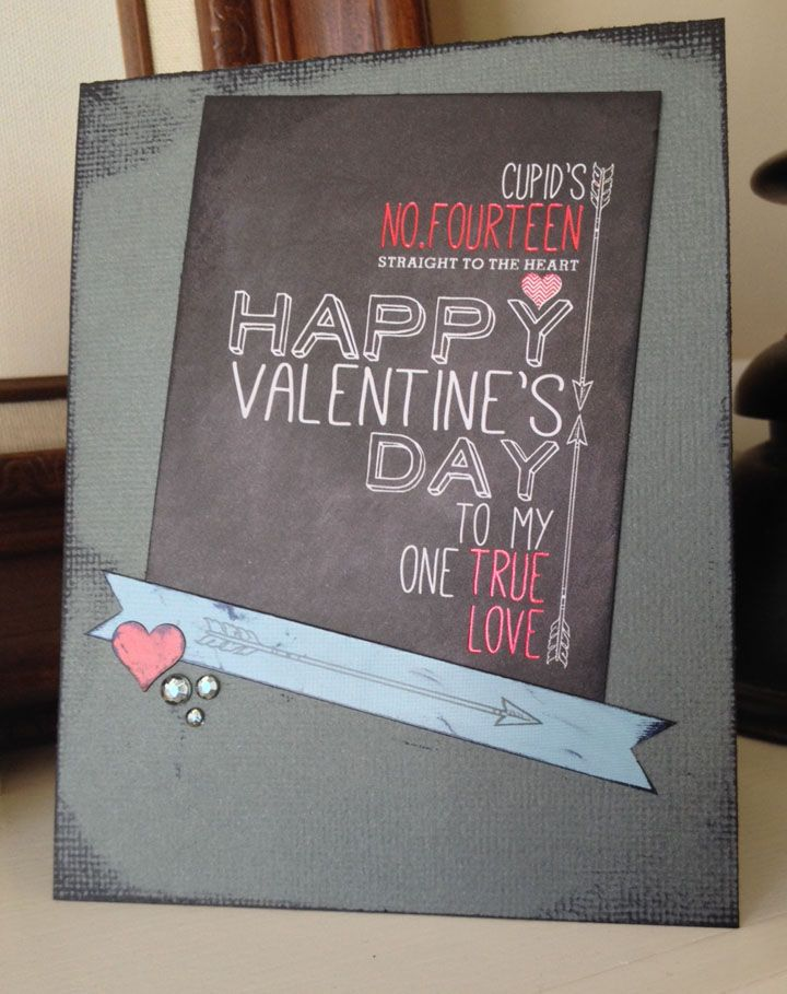 Valentine's Card - Cupid's Arrow Collection