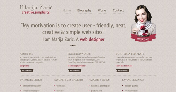 45 Best Inspirational Examples of HTML5 Websites | The Best Daily Online Resources for Web and Graphic Designers