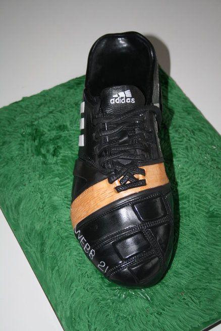 Football Boot Cake