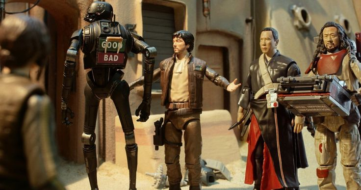 New Star Wars Toys Revealed in Second Rogue One Animated Short -- Jyn Erso must rely on an unlikely group of heroes in the second chapter of Go Rogue, a new animated short series for Rogue One: A Star Wars Story. -- http://movieweb.com/rogue-one-animated-short-chapter-2-star-wars-toys/