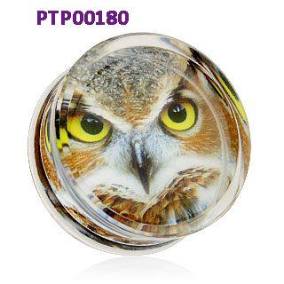 Plug od ucha s motivem orla. http://www.piercingate.cz/plug-do-ucha-orel-ptp00180