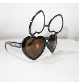 Love Specs Diffraction Glasses - Black Flip