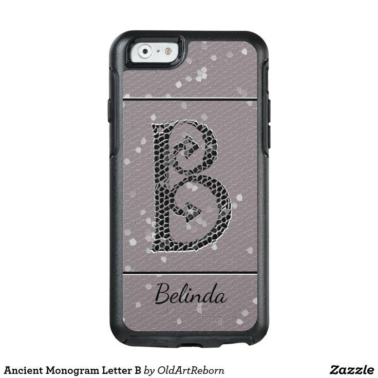Ancient Monogram Letter B OtterBox iPhone 6/6s Case