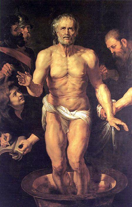 Death of Seneca, Peter Paul Rubens, c. 1615 Museo Del Prado, Madrid, Spain