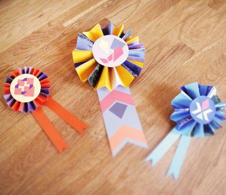 Paper ribbons. #splendidsummer