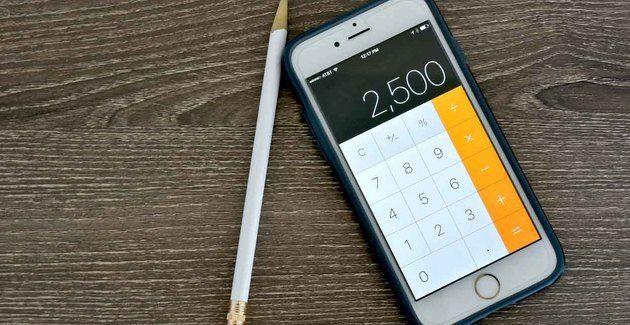 De rekenmachine op de iPhone heeft een heel handige functie die niemand kent
