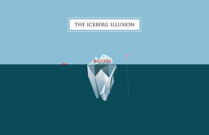 EISBERG I ARTIST ILLUSION behind the succes