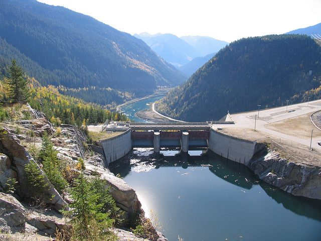 Mica Dam, Revelstoke, BC
