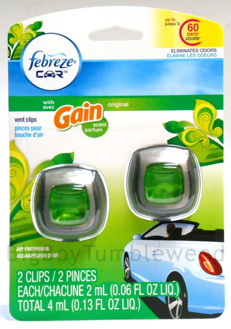 Febreze Car Gain Laundry detergent Scent vent clips RV Truck AIR FRESHENER linen   #Febreze Car #Gain #Laundry #detergent #Scent vent #clips #RV #Truck #car #AIRFRESHENER #bigboytumbleweed @bbtumbleweed