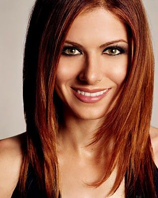 87 best hair color for hazel eyes images on pinterest autumn every time i see debra messing im so tempted to truly do a red hair color stronger than my usual auburn urmus Gallery