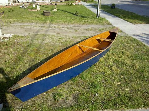 Build your own canoe with just 2 sheets of plywood yes for Plywood fishing boat plans