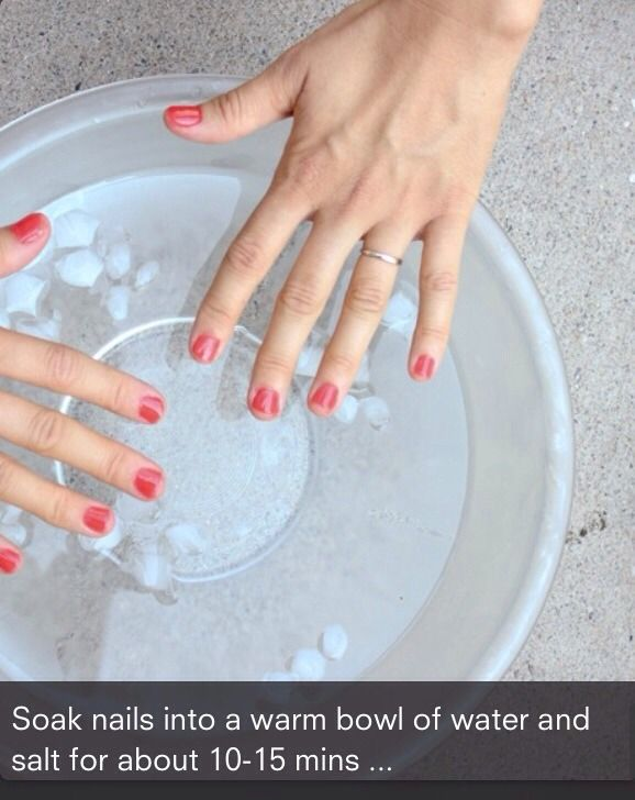Easy Way To Grow Up Your Nails Fast #Beauty #Trusper #Tip