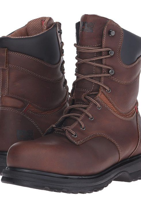 Timberland PRO Rigmaster 8 Waterproof Alloy Safety Toe (Brown) Women's Work Boots - Timberland PRO, Rigmaster 8 Waterproof Alloy Safety Toe, TB088116214, Women's Casual Work and Duty Duty, A.N.S.I. Rated Steel Toe, Work, Boot, Footwear, Shoes, Gift, - Fashion Ideas To Inspire