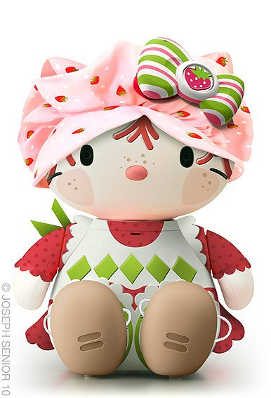 This guy does the best Hello Kitty mods I have ever seen from Strawberry Shortcake to Lady GaGa