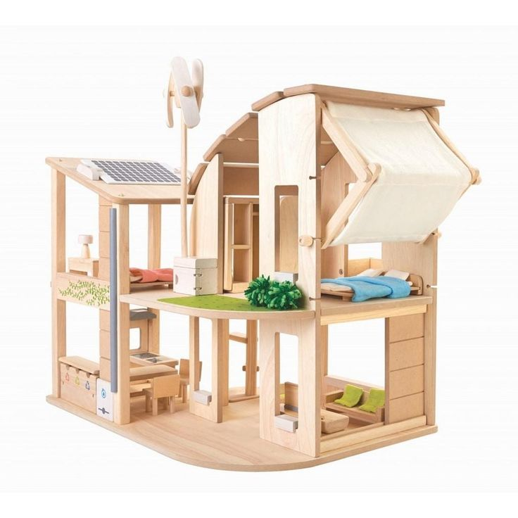 8 best puppenhaus aus holz images on pinterest doll houses dollhouses and child room. Black Bedroom Furniture Sets. Home Design Ideas