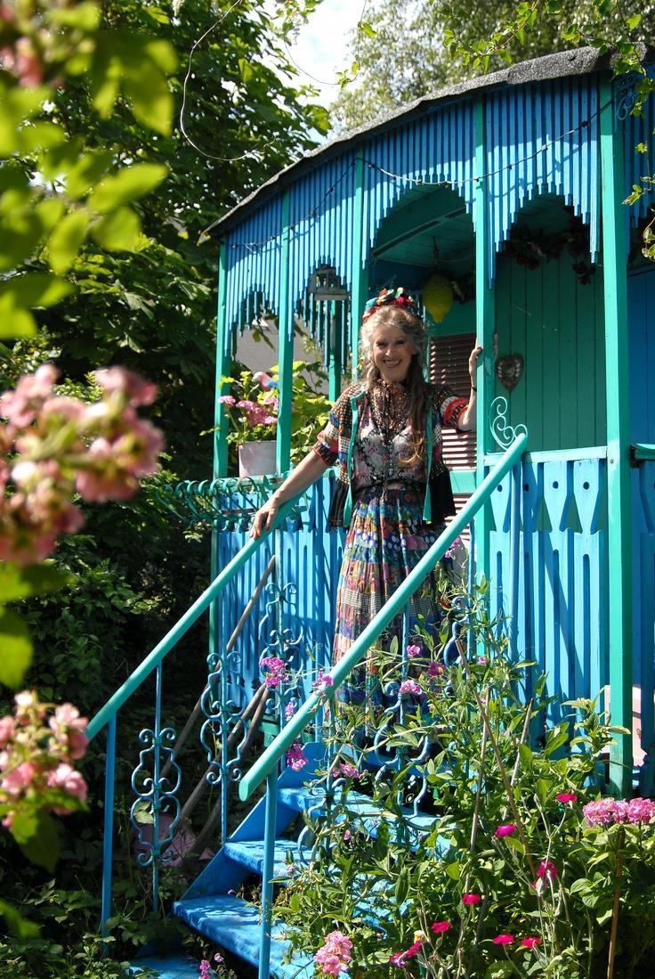 Skønne Fru Helger på Christiania