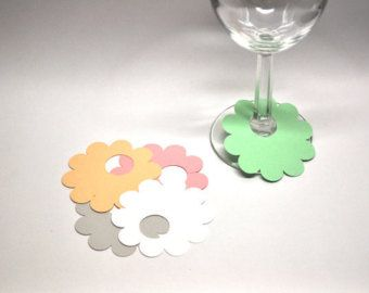 24 disposable wine glass markers