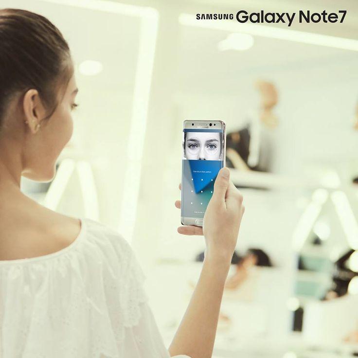 Bạn có biết: mống mắt của mỗi người luôn luôn độc nhất. Đó là lý do khiến Iris scanner - tính năng quét mống mắt của #GalaxyNote7 trở thành chìa khóa thông minh và tân tiến nhất cho cánh cửa bảo mật trên chiếc điện thoại của bạn. #nguyenkim #samsung #galaxynote7