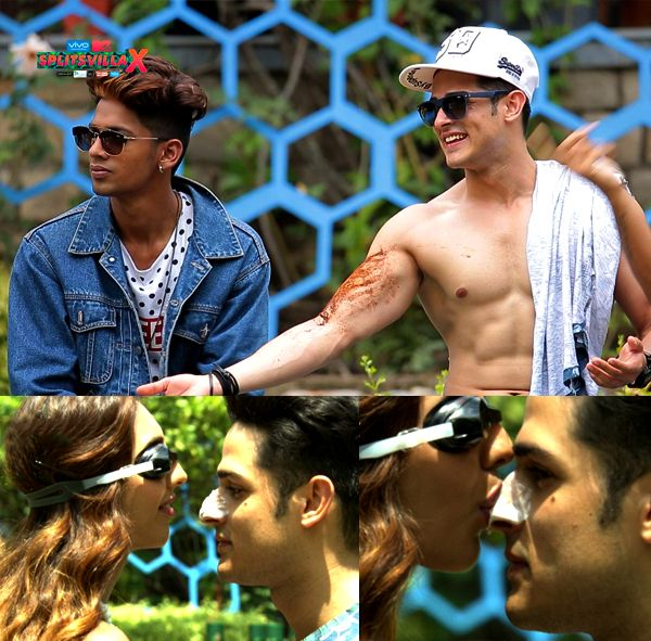 MTV Splitsvilla X episode 6: Priyank, Divya and Nibedita – the popular triangle is tested in a sexy task #FansnStars