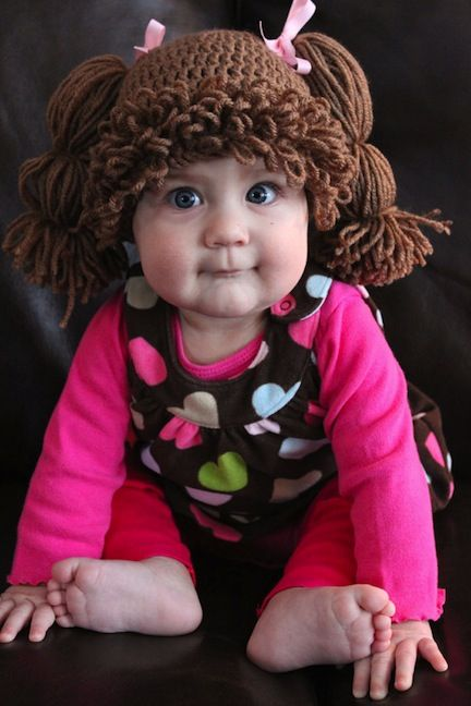 cabbage patch wigs | Cabbage Patch Doll Wig | The DougOut - 94.5 The Buzz...OMG this is soo cute! Make Bray one mom!!