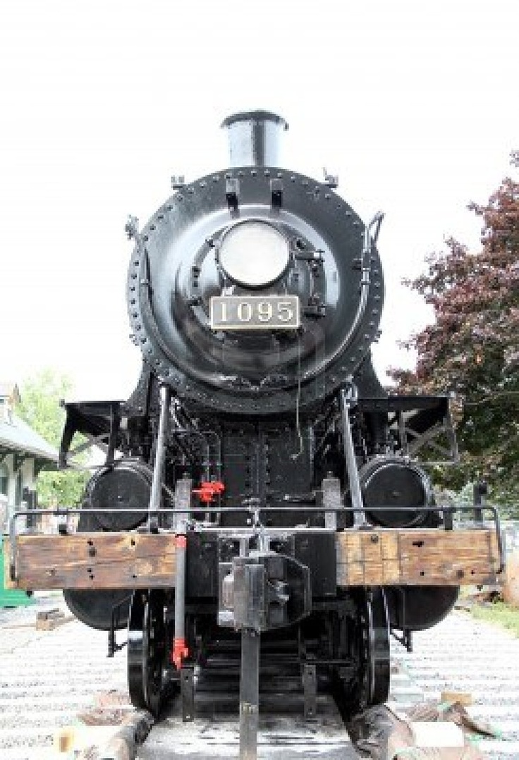 An old locomotive in Kingston Ontario, Canada on September 7, 2012 ~ Photo by...Noodles73©