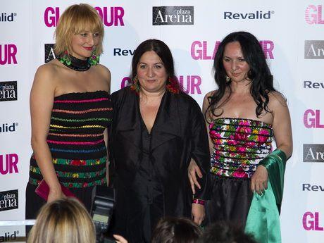 Erika Varga at Glamour