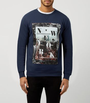 Be inspired by the city in this sweater from New Look