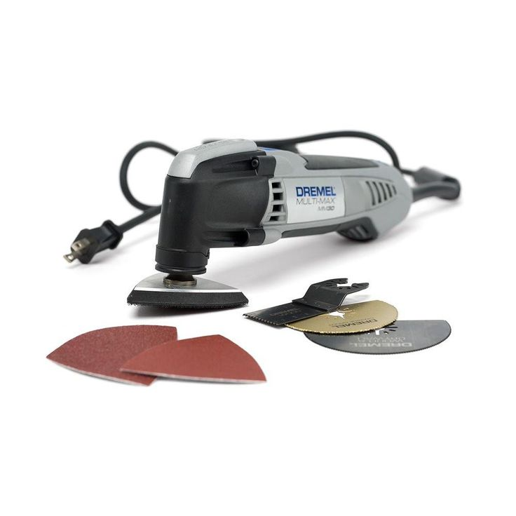 Dremel Multi-Max 3.3 Amp Variable Speed Corded Oscillating Tool Kit with 10 Accessories and Carrying Bag