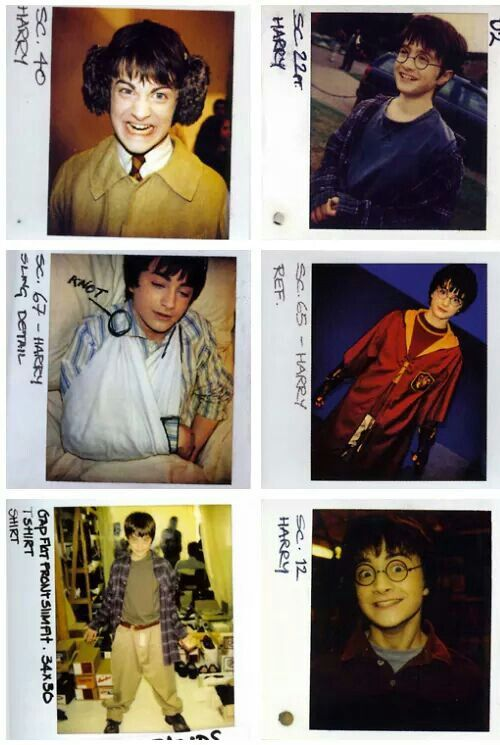 HARRY POTTER: Son of James and Lilly Potter, wizard.