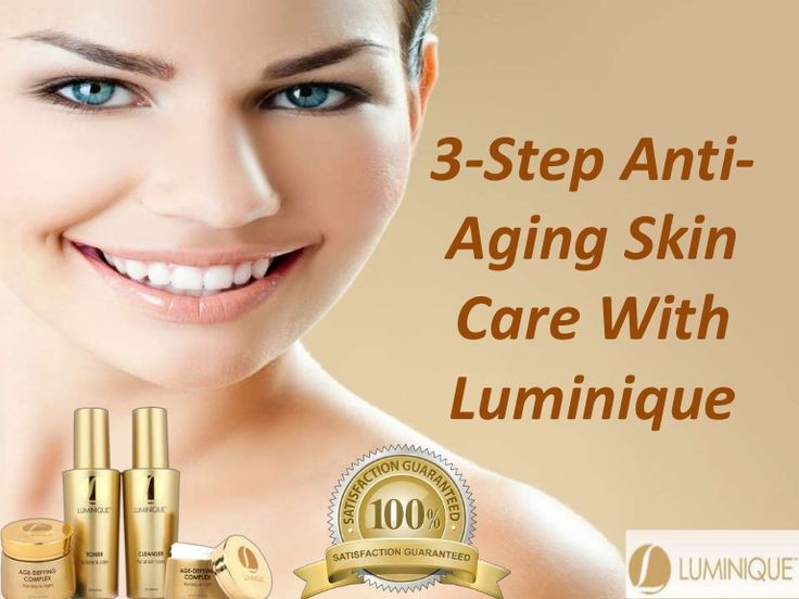 The products you use now are laced with anti-aging benefits.