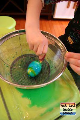 genius easy way to dye easter eggs