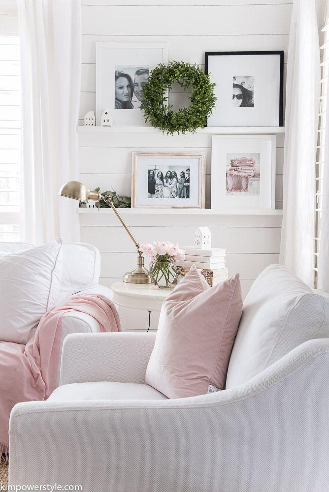 Spring Decor Update In The Living Room Elegant Home Decor