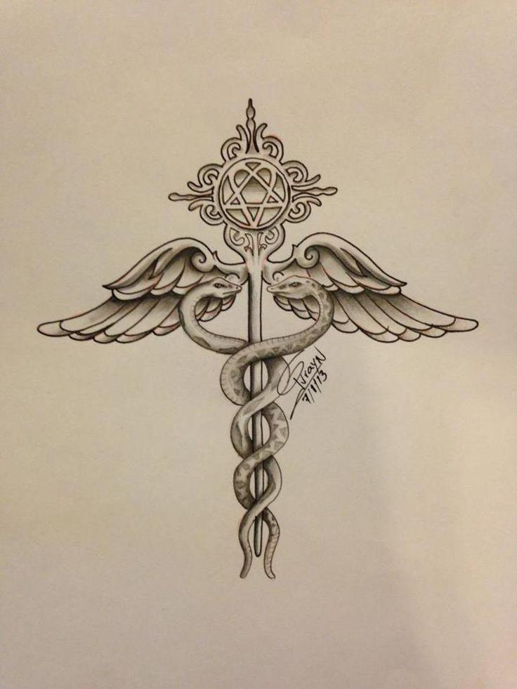 medical insignia tattoo - Google Search